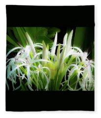 Wildflowers Of Hawaii Fleece Blanket