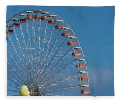 Wildwood Ferris Wheel Fleece Blanket