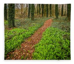 William Butler Yeats Woods Of Coole Park Fleece Blanket