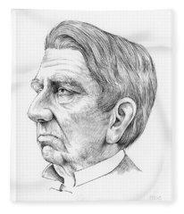 William Seward Fleece Blanket