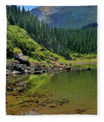 Williams Lake Fleece Blanket