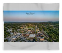Willimantic Panorama Fleece Blanket