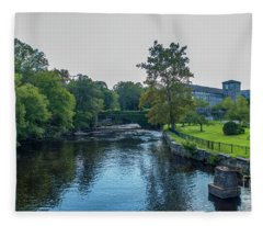 Willimantic River Fleece Blanket
