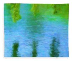Willow Water Fleece Blanket