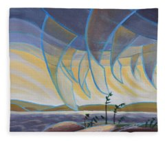 Wind And Rain Fleece Blanket
