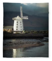 Wind And Whispers Fleece Blanket