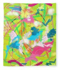 Wind In The Park Fleece Blanket