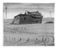 Wind On The Plains Fleece Blanket