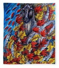 Wind Spirit Fleece Blanket