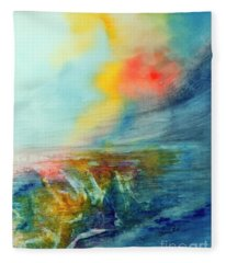 Wind Swept Fleece Blanket