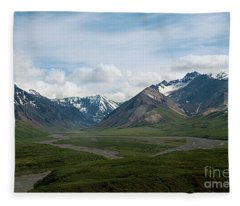 Winding Water Ways Fleece Blanket