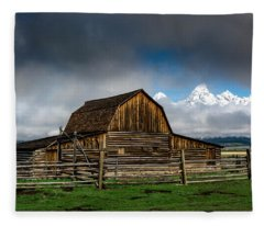 Window In The Storm Fleece Blanket