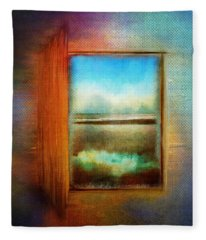 Window To Anywhere Fleece Blanket