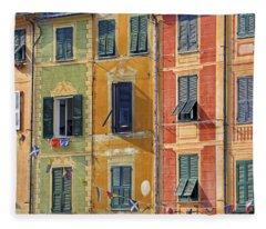 Windows Of Portofino Fleece Blanket