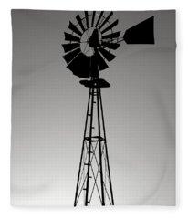 Windpump Fleece Blanket