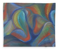 Winds Of Change Prevail Fleece Blanket