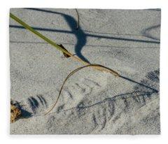 Winds Sand Scapes Fleece Blanket