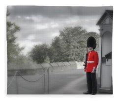Windsor Castle Guard Fleece Blanket