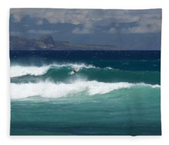 Windswept Ho'okipa Fleece Blanket