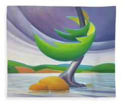 Windswept II Fleece Blanket