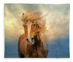 Windswept Fleece Blanket