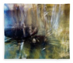 Fleece Blanket featuring the photograph Wine And Water by Alex Lapidus