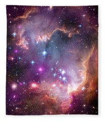 Wing Of The Small Magellanic Cloud Fleece Blanket
