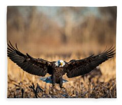 Wing Span Fleece Blanket