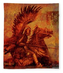Winged Hussar 2016 Fleece Blanket