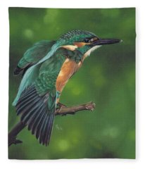 Winging It Fleece Blanket