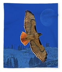 Wings Fleece Blanket