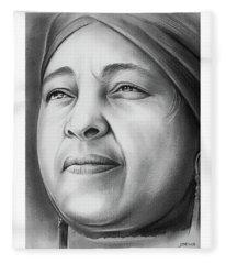 Winnie Mandela Fleece Blanket