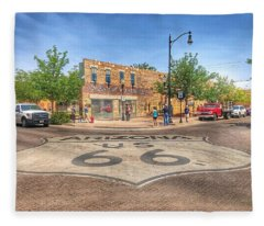 Winslow Arizona Fleece Blanket