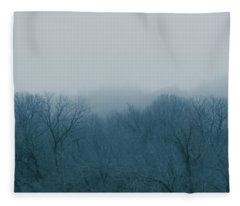 Winter Afternoon Fleece Blanket