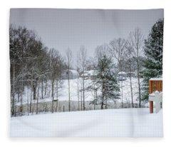 Blizzard Beauty Fleece Blanket