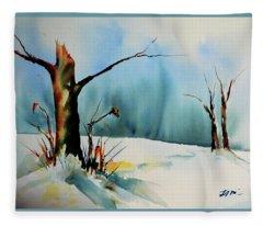 December River Fleece Blanket
