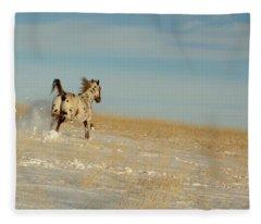 Winter Charger Fleece Blanket
