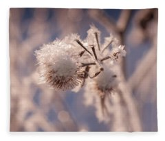 Winter Frost Fleece Blanket