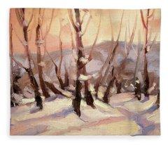 Winter Grove Fleece Blanket