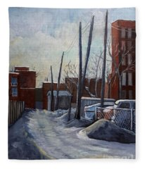 Winter Lane Fleece Blanket