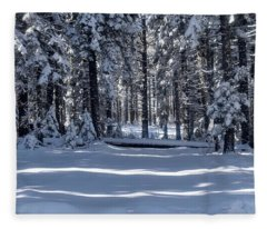 Winter Magic Fleece Blanket