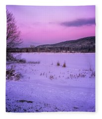 Winter Meadows II Fleece Blanket