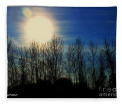 Winter Morning Fleece Blanket