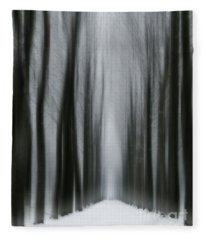 Winter Mystery Fleece Blanket