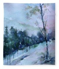 Winter Paradise Fleece Blanket