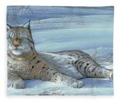 Winter Prince Fleece Blanket