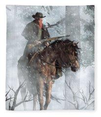 Winter Rider Fleece Blanket