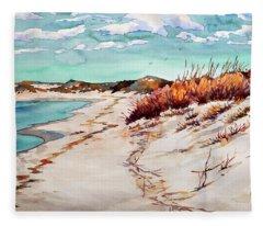 Winter Sands Fleece Blanket