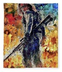 Winter Soldier Fleece Blanket