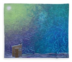 Winter Solitude 2 Fleece Blanket